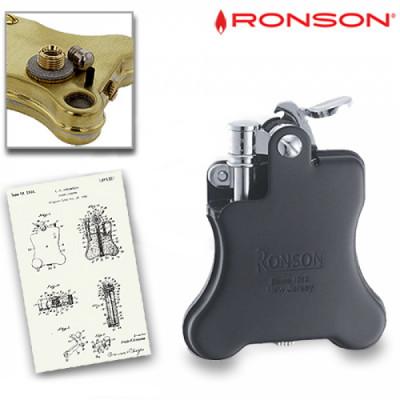 Ronson Banjo 1928 - Benzine aansteker - Zwart
