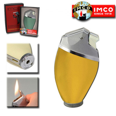 Imco Pelican v.steen gas aansteker Yellow