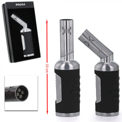 Profa - Torch/Jet aansteker - Twist Metal