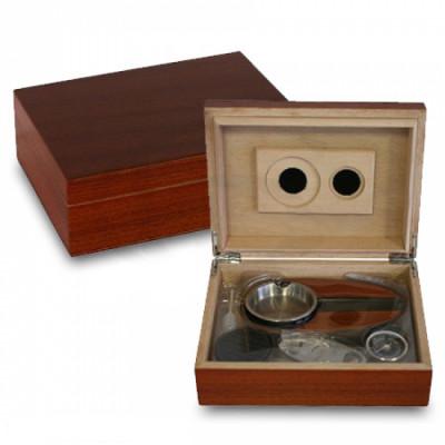 Bookwill Humidor Giftset - Rose Wood