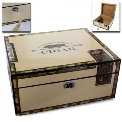 Humidor Cigar box - Cigar 260x220x120mm