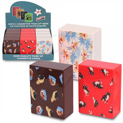 Belbox - Sig.box/huls - Plastic - 85mm - 30 Sig. - Pop-Up Small Doggies - Display (12-stuks)