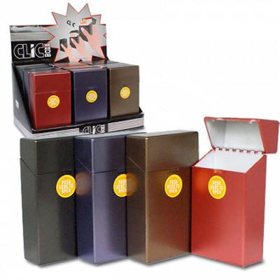 Belbox - Sig.box/huls - Plastic - 100mm SKS - 20 Sig. - Metalic - Display (12-stuks)