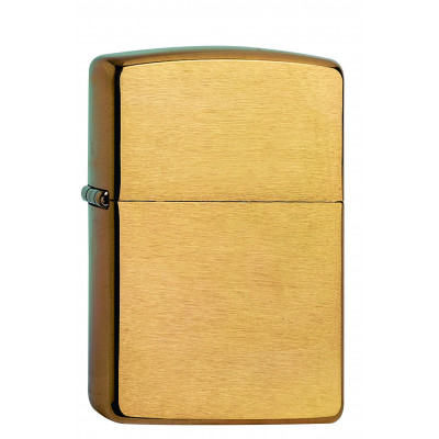 Zippo - Armor Case Heavy Wall - Brass Brushed