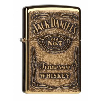 Zippo - Jack Daniel's Label Brass