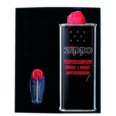 Zippo Gift-Set - Aanstekerbenzine (125ml)  + Vuursteen