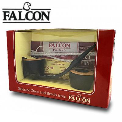 Falcon - Pijp - Complete pijp + extra bowl - Display (6-stuks)