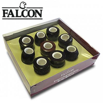Falcon - Bowl - Standaard Meerschuim - Vari Set van 9 stuks