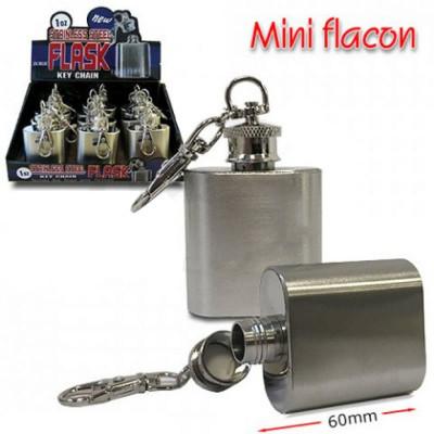 Bookwill - Drankflacon MINI Flacon met sleutelh. 1Oz 12-display