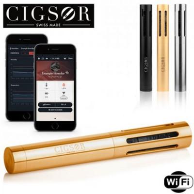 Cigsor Hygrometer WiFi gestuurd - Luxury 18k