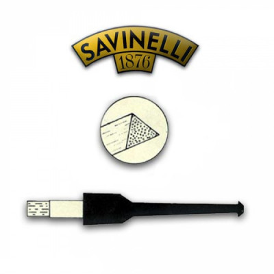 Savinelli - Pijpfilter - Balsahout - 6mm - 1x20