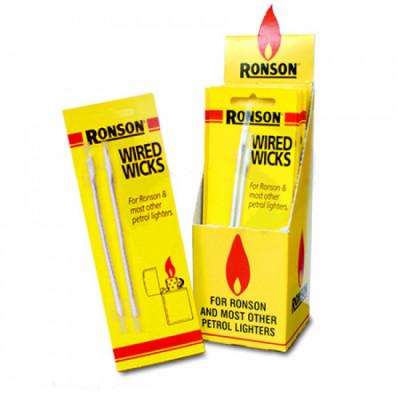 Ronson - Aansteker Lontjes - 2 Stuks per pakje - Display (12-pakjes)
