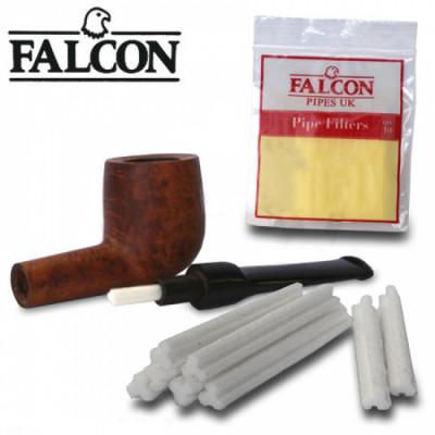 Falcon - Pijpfilters - 6mm - 10 Stuks per pakje - Display (12-pakjes)