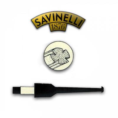 Savinelli - Pijpfilter - Balsahout - 9mm - 1x15