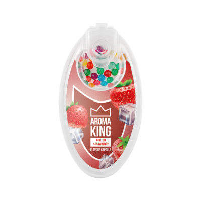 AromaKING - Flavour Capsule - Ice Strawberry (100 Capsule)
