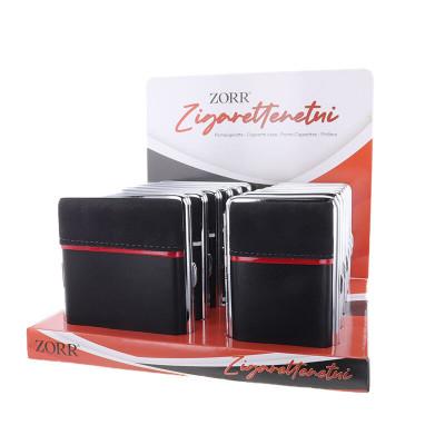 Zorr - Sig.box/huls - PU leer - mm - Sig. - Display (12-stuks)