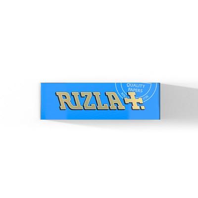 Rizla - Vloei - Blue - Regular - 60 Vloeitjes per Booklet - Display (100-stuks)