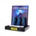 Clipper - Vuursteen aansteker - Deep Blue Metal - Display (12-stuks)